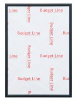 aluminium wissellijst M135 Budget Line mat zwart