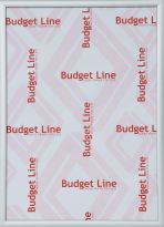 Aluminium wissellijst M135 Budget Line mat zilver