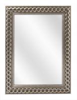 Geflochten Holz Spiegel - Silber