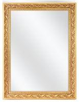 Spiegel mit Verzierung Rahmen - Gold